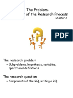 Developing the Research Question7