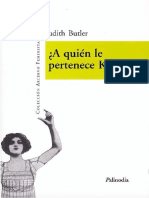 Judith Butler - A quién le pertenece Kafka y otros ensayos.pdf