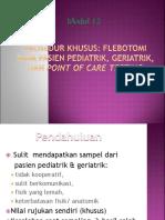 29. Prosedur Pediatrik, Geriatrik Khusus, POCT