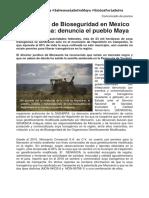 El Sistema de Bioseguridad en México no funciona