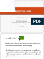BRONCHIECTASIS, Dr. Partogi, SpRAD, Koas Radiologi RSAL Periode TIM B 2 Okt - 4 Nov 17