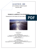 Porus Asphalt details