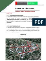 Diseño de Pavimento Ravacayco