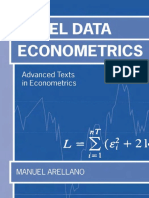 [Libro] Arellano - Panel Data Econometrics 2003
