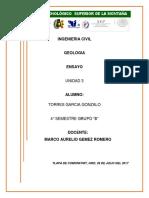 Ensayo de Geologia Unidad 3 Imprimir