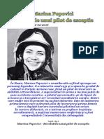 Marina POPOVICI - Pilotul Care Are Revelatii Extraordinare