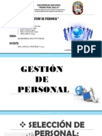 Gestion Personal