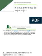 Mantenimiento a Turbinas de Vapor y Gas