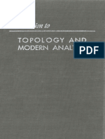 Introduction to Topology and Modern Analysis - George F. Simmons