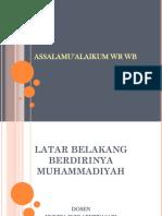 Latar Belakang Berdirinya Muhammadiyah