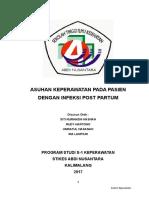 Askep Pada Pasien Dengan Infeksi Post Partum