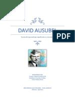 David Ausubel 1