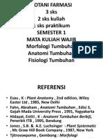 Botani Farmasi-kuliah 1