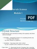 metallurgy MMS module 1 and 2
