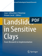 Landslides in Sensitive Clays - From Research to Implementation