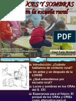 Luces y Sombras en La Escuela Rural 1223658571180744 9