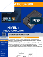 Cursi PLC Nivel 1 Introduccion a La Programacion Ejercicios