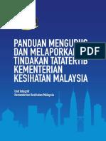 Buku Panduan Mengurus Dan Melaporkan Tindakan Tatatertib Kkm