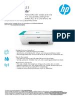 HP DJ 2623 Datasheet
