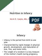 4 Nutrition in Infancy(1)
