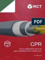 201711 Cables Rct - Nuevo Reglamento de La Ue Para Materiales de La Construcción