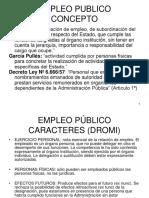 EMPLEO PÚBLICO  CONCEPTO - NATURALEZA JURIDICA.pdf