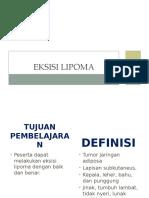 9. EKSISI LIPOMA