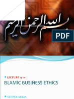 9-10 Islamic Business Ethics