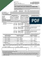 Formulir Pemulihan PPBU