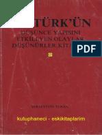 Şerafettin Turan - Atatürk'Ün Düşünce Yapısını Etkileyen Olaylar, Düşünürler, Kitaplar (1)