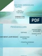 Bayi aterm (KMK) + BBLR + Asfiksia + Gangguan Napas