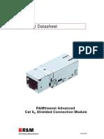 Data Sheet Module Cat6a Iso Stp