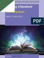 Fabrizi, M.a. - Fantasy Literature. Challenging Genres