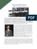 Les Déracinés de Maurice Barrès - Une Critique de La Morale Kantienne