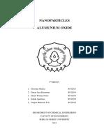 Nanopartikel Alumina