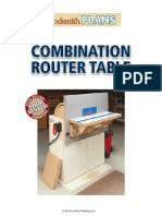 WS22234 Combination Router Table