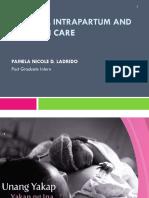 1 Essential Intrapartum and Newborn Care