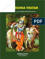 Sri Krishna Vratham English