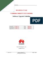 Huawei g7-l01 v100r001c00b257custc185d001 Upgrade Guideline v1.0