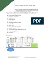 Especificaciones Tecnicas de Caldera Afj II 2800