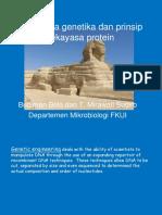 Genetic Engineering, UNpar 2013