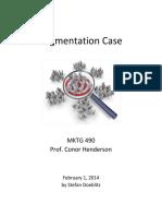 Segmentation Case
