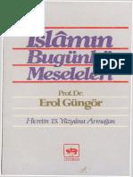 Erol Güngör - İslamın Bugünkü Meseleleri