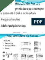 Representação de Roscas em Desenho Técnico