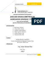 Analisis Granulometrico de Agregdos Gruesos y Finos