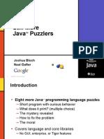 Sun Java Puzzlers