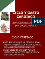 Ciclo y Gasto Cardiaco