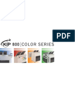 Kip 800 Series Brochure
