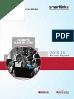 Smartlink Annual Report 2015-16-25June2016 1