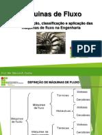 Definição, Classificação e Aplicação Das Máquinas de Fluxo Na Engenharia